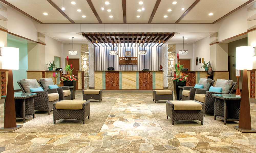 Wyndham Waikiki Beachwalk/ Lobby-Reception
